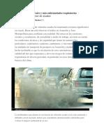 Contaminación del aire y mas enfermedades respiratorias