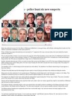 Dubai Assassination - Police Hunt Six New Suspects