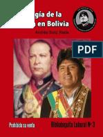 Librito Nº 3 edición pequeña  la ideologia de la izquierda en Bolivia