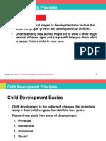Principles on Child Development