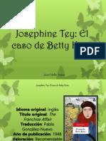 Javier Ceballos Jiménez - Josephine Tey