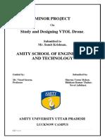 Study and Design of VTOL