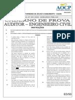 Prova de Engenharia Civil