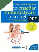 M;matemática para un bebe