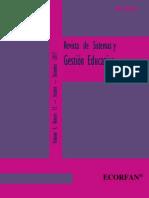 Revista de Sistemas y Gestión Educativa