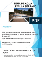 Sistema de Agua Potable Villa Serrano