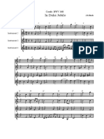 Corale BWV 368 J.S.Bach