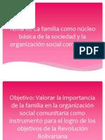 FAMILIA Y PENSAMIENTO BOLIVARIANO