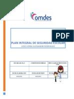 Plan Integral de Seguridad Escolar (PISE) - 2019