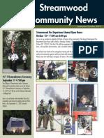 Streamwood Village Newsletter
