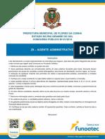 Agente Administrativo 9