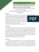 ASPECTOS GEOMORFOLÓGICOS DO MUNICÍPIO DE SÃO JOSÉ