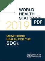 Report-World Health Statistics 2019-Monitoring Health for the SDGs