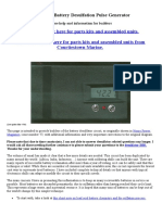 Lead Acid Battery Desulfation Pulse Generator