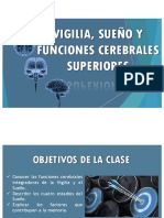 19a Clase Vigilia, Sueño y Funciones Cerebrales Superiores AyFI