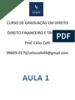 Financeiro e Tributário - Aula 1