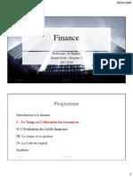 Finance Cout Cap