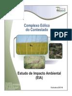 Estudo de Impacto Ambiental - Complexo Eólico do Contestado