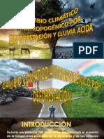 Cambio Climatico Antropogenico