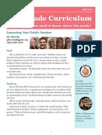 plowcha curriculum night newsletter