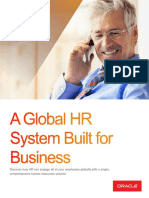 Oracle Global Hr System Brief..