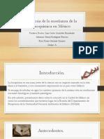 Historia de la enseñanza de la bioquímica en México