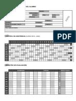Ficha Del Alumno Curso 2019 2020 Control Asistencia Información Color Blanco y Negro (2)