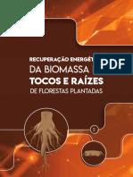 Recuperação energética da biomassa de tocos e raízes de florestas plantadas