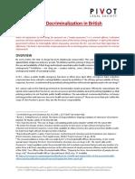 Drug Decriminalization in BC