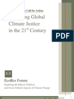 Achieving Global Climate Justice in the 21st Century
