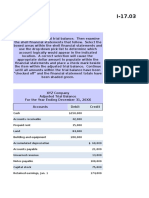 Preparing Financial Statements From an Adjusted Trial Balance