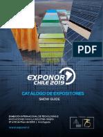 Catalogo Expositores Exponor 2019