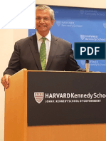 Prof. Prajapati Trivedi at Harvard Kennedy School of Government 2019