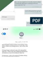 19-165 - Responsive Text Messages (Bittner)_Unredacted