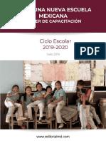 Taller-capacitacion, Nueva Escuela Mexicana