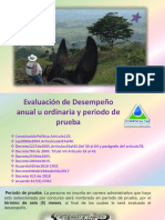 Evaluacion de Desempeño Ordinaria Para Inducción Al Perosnal en Peridodo de Prueba