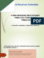 Control Fiscal - Conferencia para contadores