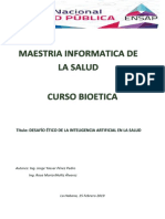 Trabajo Final de Bioteica