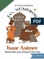 Asimov, Isaac - Cómo descubrimos los números.pdf