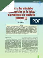 Crítica a Los Principios Fundamentales de La Física, El Problema de La Medición Cuántica
