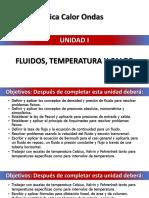 Unidad i. Fluidos, Temperatura y Calor