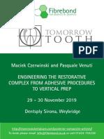Venuti Course Flyer