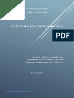 PA 1 Psicoterapia Cognitivo Conductual