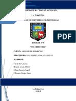 INFORME Coliflor Manzana de H20