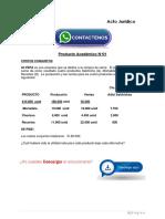 Contabilidad de Costos II Producto Académico N°1