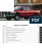 2007 Ram PowerWagon Owners Manual