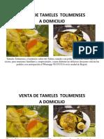 Venta de Tameles Tolimenses