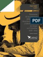 Panorama de Las Personas Defensoras de Los DH (1)