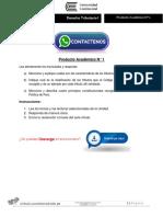 Derecho Tributario Producto Académico N°1