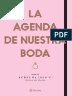33826 La Agenda de Nuestra Boda